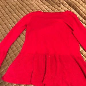 Peplum, Bell Sleeve Sweater